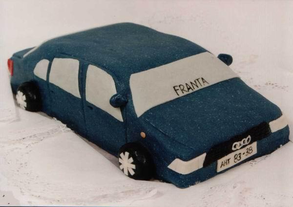 Dort modelované auto Audi