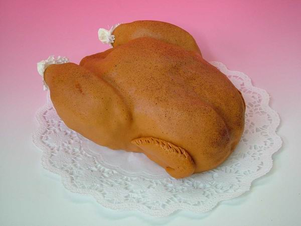 Dort modelované kuře/kachna