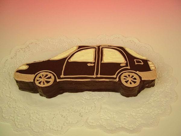 """Dort auto """"čokoládové"""""""